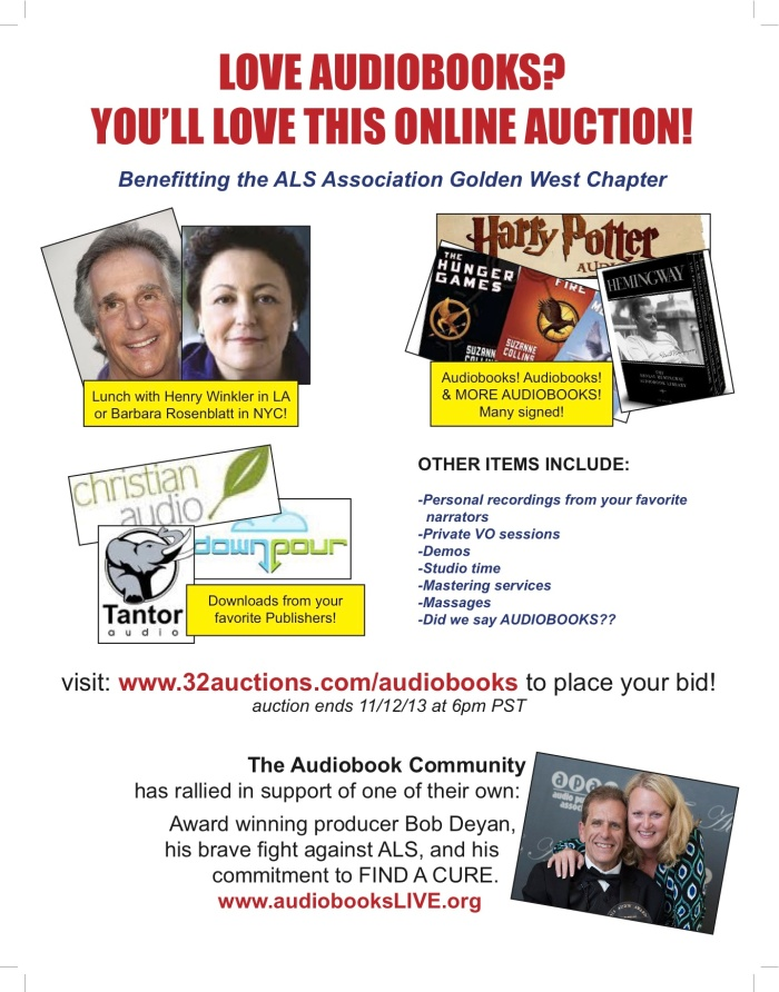 Auction flyer correct