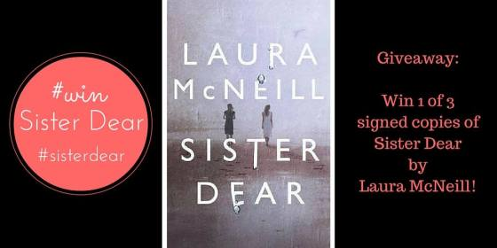 laura mcneill sister dear giveaway