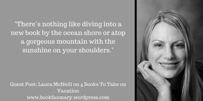Bookfan Mary 4 books on vacation blurb