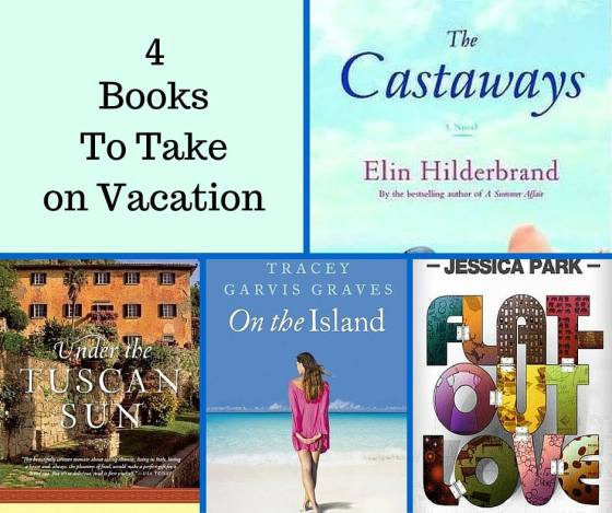 bookfan mary 4 books to take on vacation image